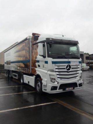 vrachtwagen botanica wood franco levering