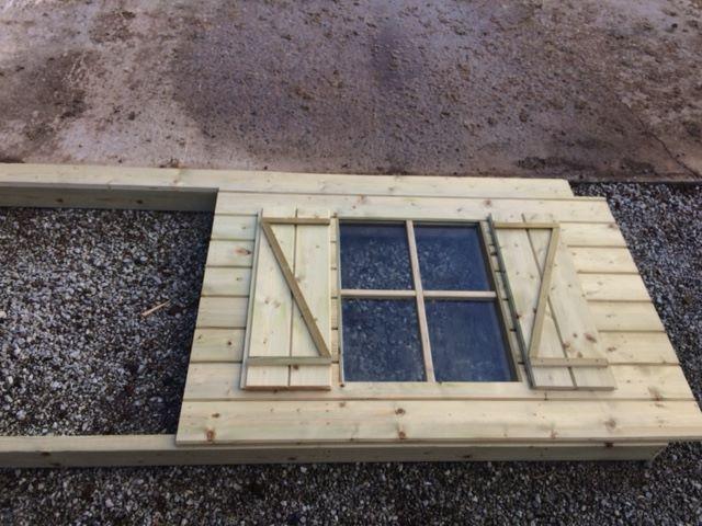 bouwen van een tuinhuisje